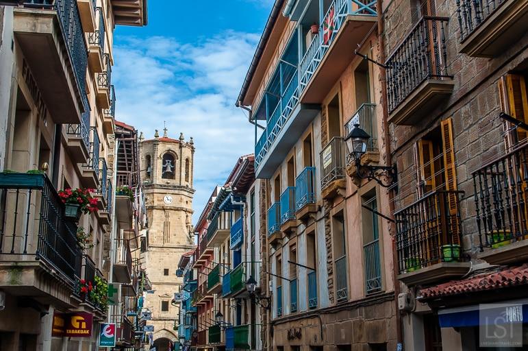 Cristóbal Balenciaga hails from the town of Getaria, near San Sebastian in Spain