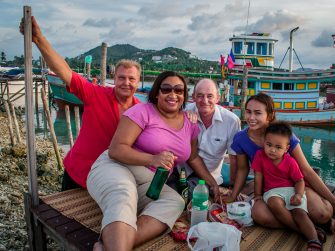 Unique travel experiences – dinner with the locals in Koh Samui, Thailand