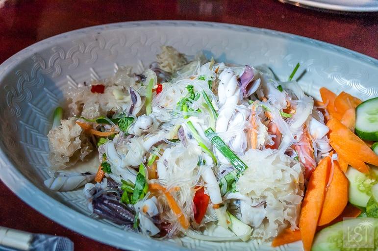 Dinner is served in Koh Samui