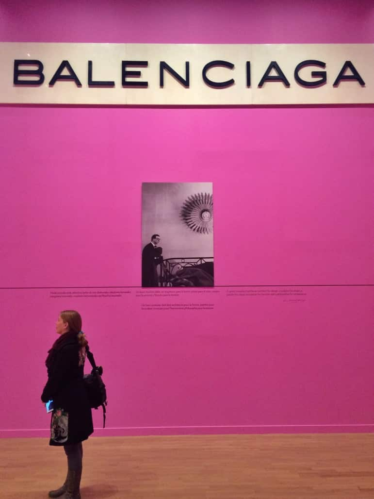 Learning more about Spain's famed fashion designer at the Balenciaga Museum