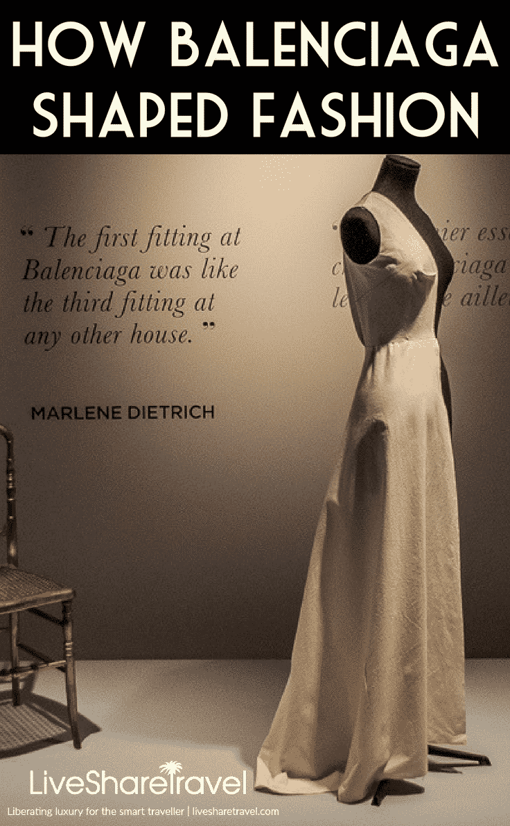 Making of a Spanish hero - Balenciaga exhibition in London hails designer responsible for shaping fashion