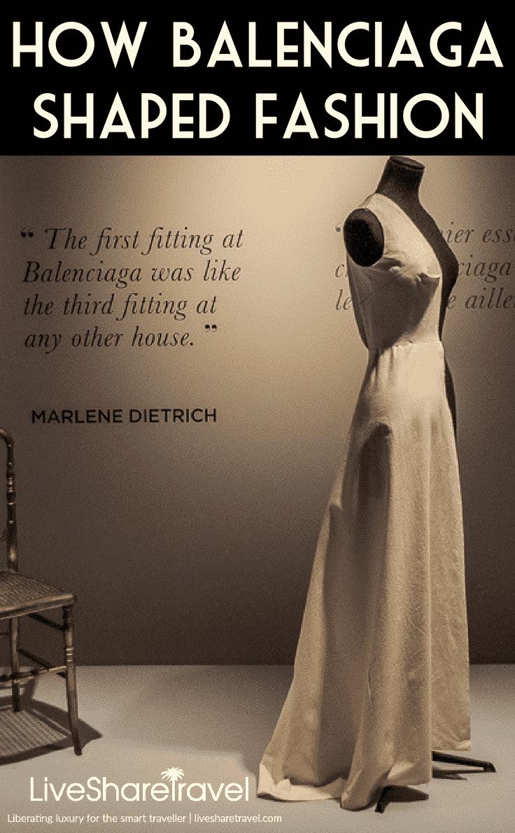 Making of a Spanish hero - Balenciaga exhibition in London hails designer responsible for shaping fashion