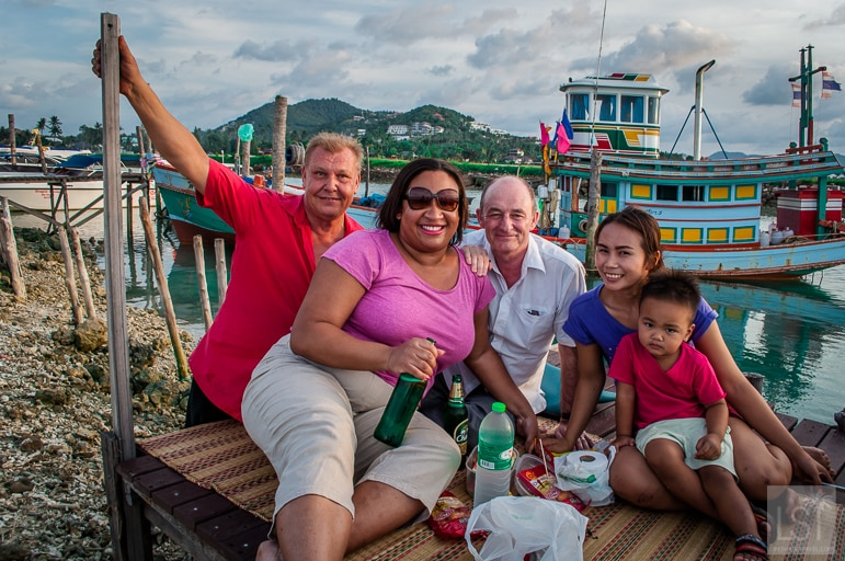 Unique travel experiences - soaking up friendship and hospitality with our Thai and Finnish friends