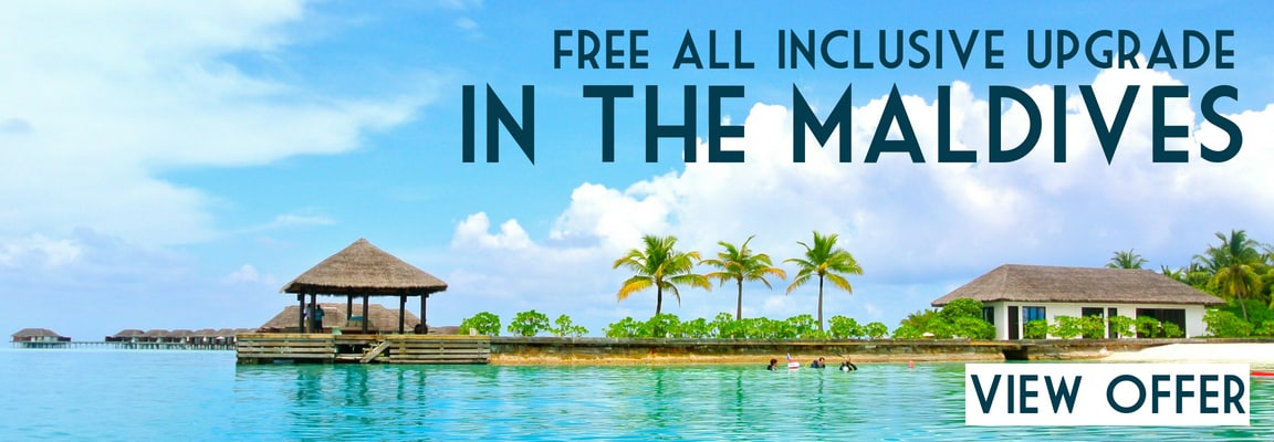 All inclusive luxury holiday offers in the Maldives