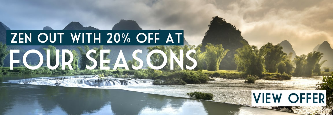 Four Seasons luxury holiday discounts