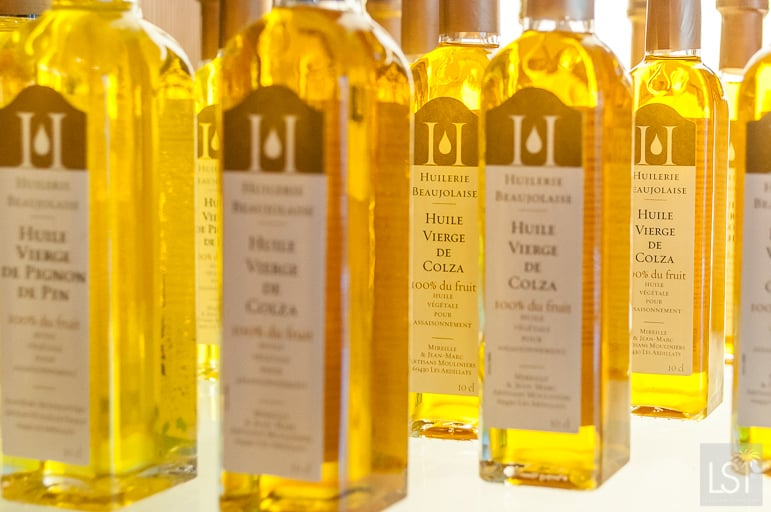 Quality oils at Huilierie Beaujolaise
