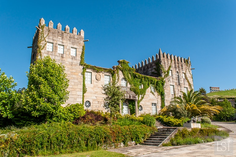 Pazo Baion in one of the most regal Spanish wine regions - Rías Baixas