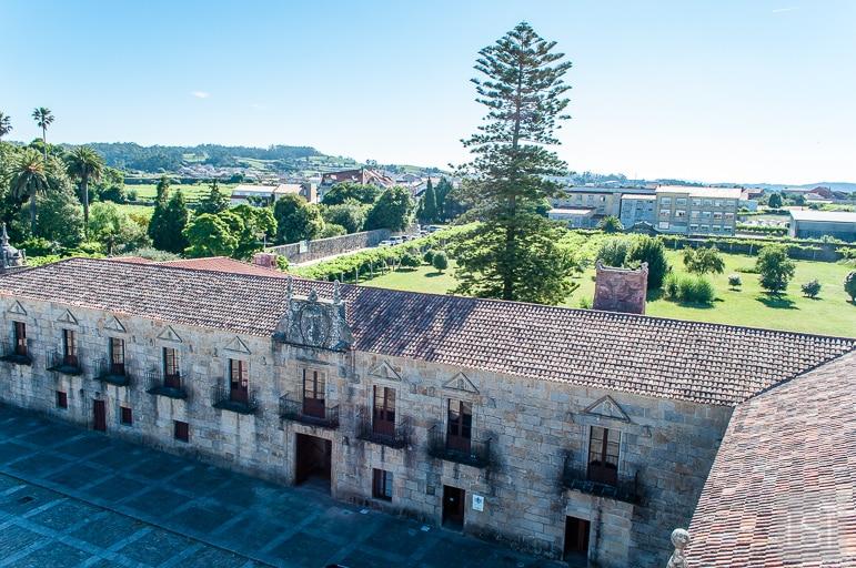 Spanish wine regions - a view of Pazo de Fefiñáns in Galicia's Rías Baixas