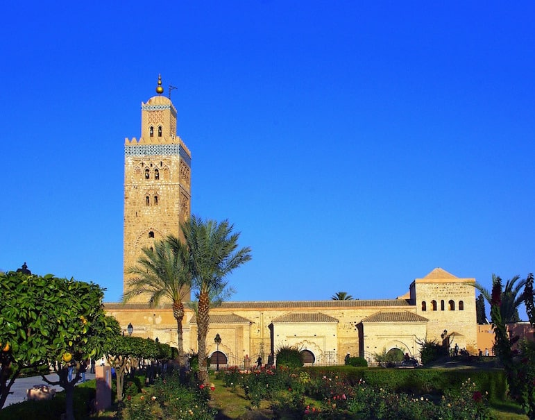 Visit Koutoubia Mosque, one of the many things to do in Marrakesh, Morocco