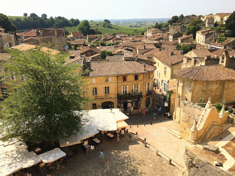 Wine and UNESCO World Heritage in Saint Emilion, France