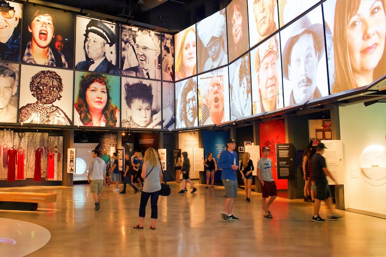 The Points of View exhibit at the museum is part of the Canada 150 celebrations, exploring the lives and perspectives of people throughout history to the present day