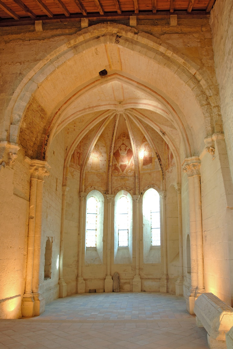 The Trinity Chapel is a fascinating place to visit and learn of how the secret murals were unearthed here after the French Revolution | Pic: Saint-Emilion Tourisme