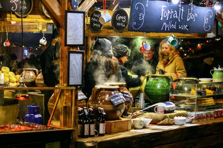 Places to go for Christmas holidays - Budapest Christmas markets with the mulled wine flowing | Pic Jorge Franganillo