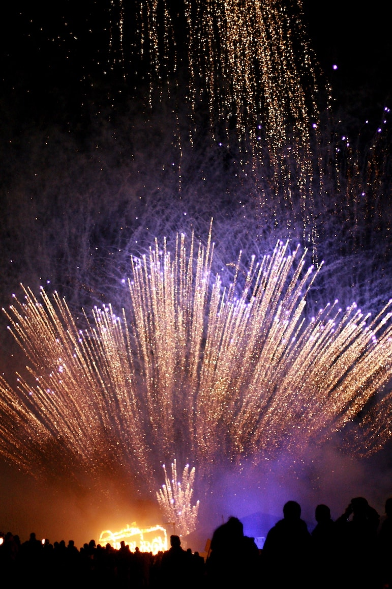 Places to go for New Year holidays - Hogmanay Edinburgh | Pic: Jenni Douglas