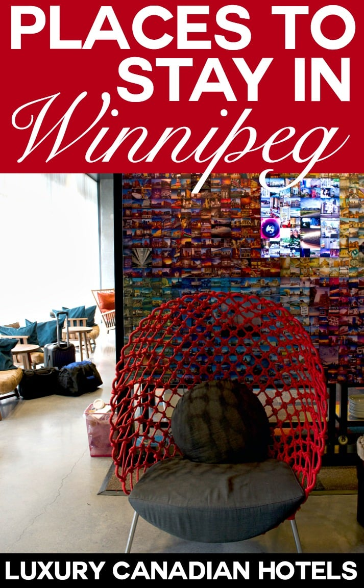 Places to stay in Winnipeg