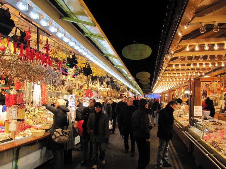 Places to go for Christmas holidays - the Strasbourg Christmas market | Pic: Francois Schnell