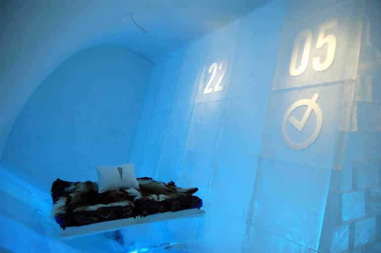 The Ice Hotel Sweden is a quirky hotel for a romantic Christmas holiday | Pic- bjaglin