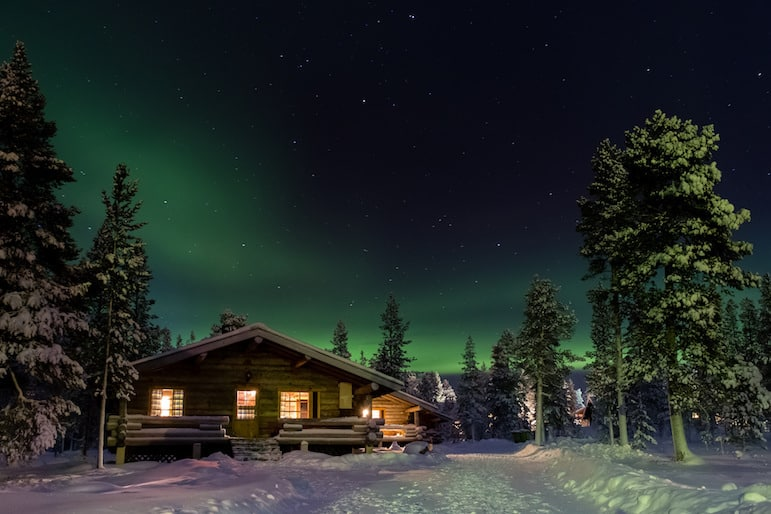 The Northern Lights is a magical experience and makes for very special holidays to Lapland | Pic- Chris