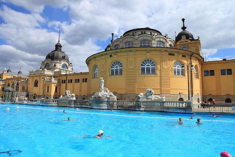 After the Budapest Christmas markets take some you time at Széchényi spa | pic: Christine Zenino
