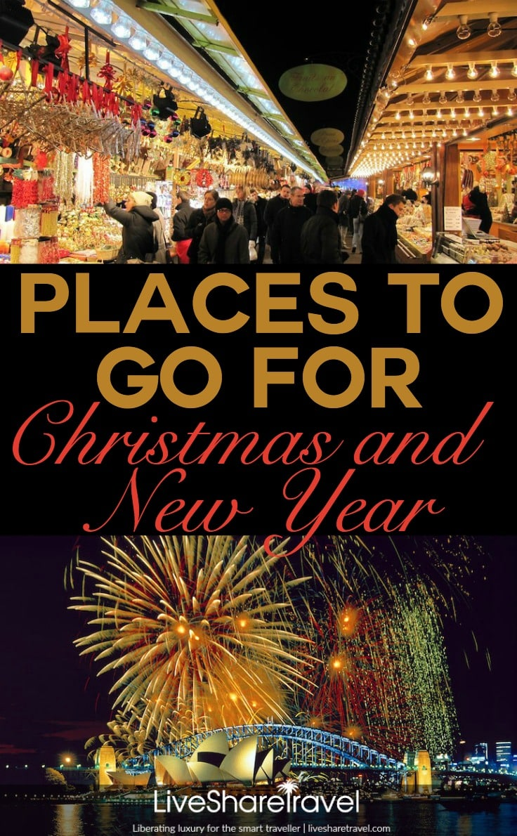 Places to go for Christmas and New Year around the world | Orig Pics: francois schnell and miquitos