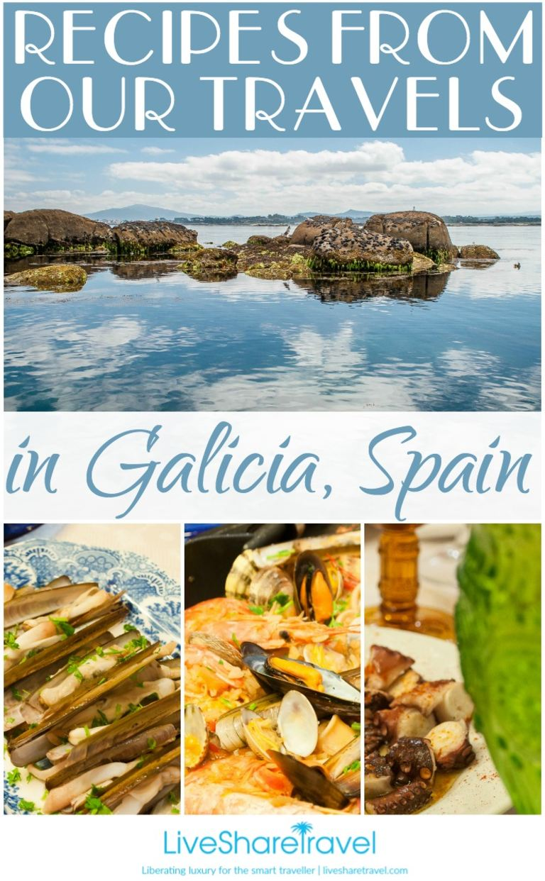 Recipes from our travels in Galicia, Spain