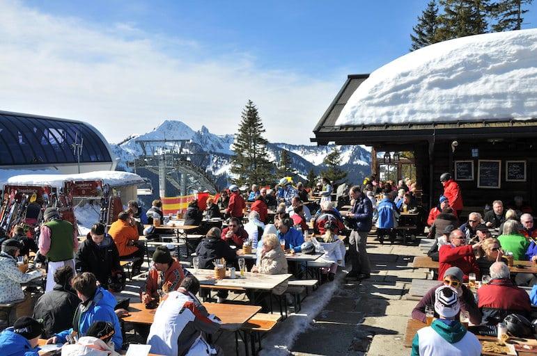 Apres Ski at Alpenbahnen Spitzingsee