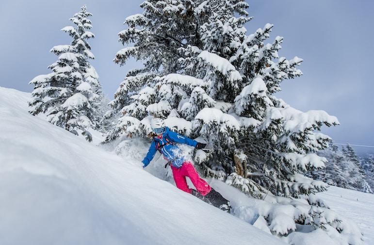 Skiing at Alpenbahnen Spitzingsee