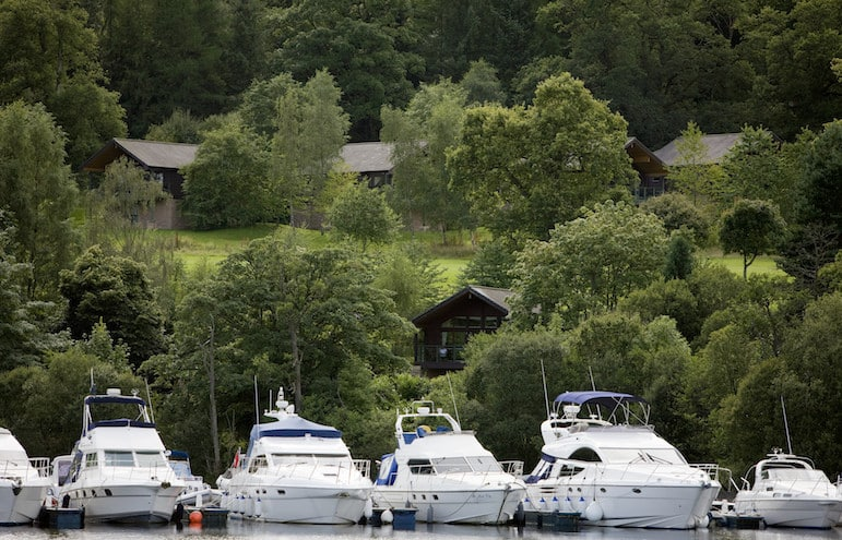 Cameron House Lodges, Loch Lomond Scotland