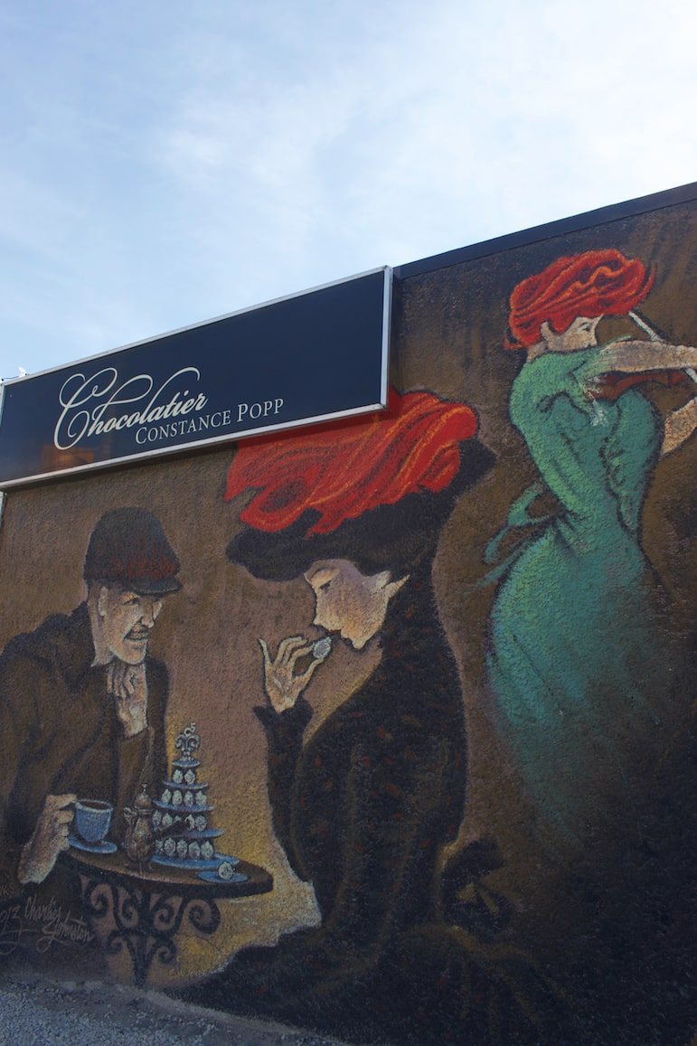 Things to do in Winnipeg - discover the murals and monuments of Saint Boniface
