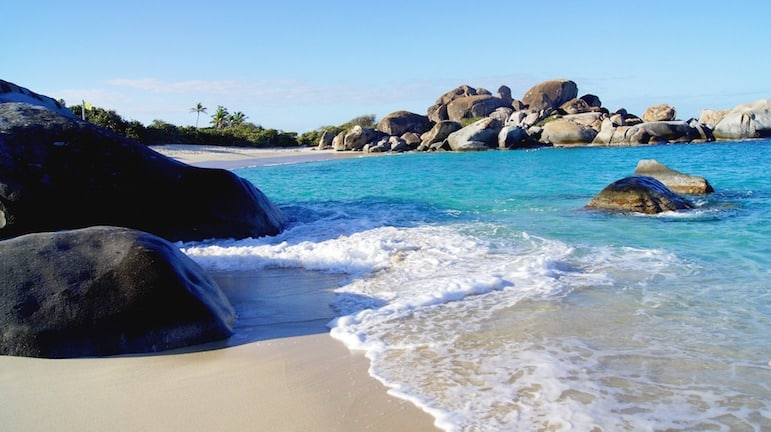 Devils Bay in Virgin Gorda