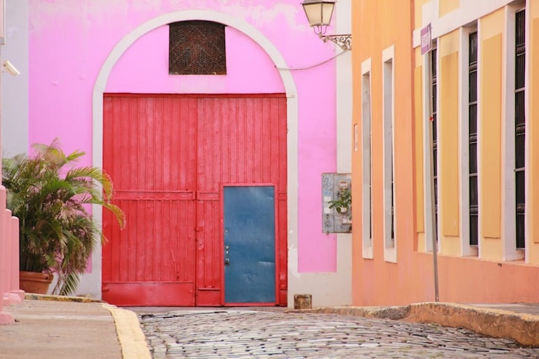Explore the vibrant streets of San Juan