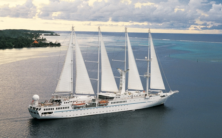 For intimate luxury, choose Windstar Cruises | Pic Roderick Eime