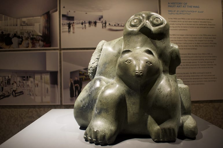 Things to do in Winnipeg - see Inuit Art at the Winnipeg Art Gallery