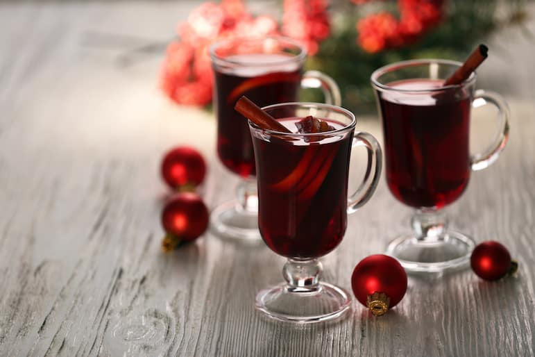 Nothing says Bavarian Christmas markets like mulled wine