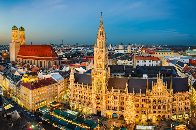 Munich is home to a number of Bavarian Christmas Markets
