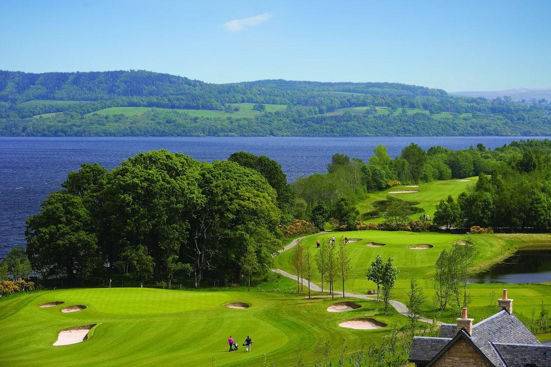 The Carrick golf course Loch Lomond Scotland