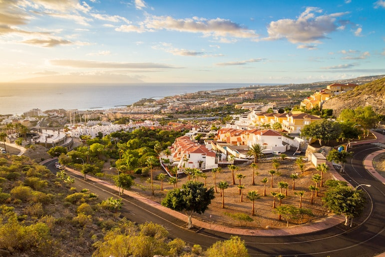 The sun drenched shores of Costa Adeje offer a lively mix of bars restaurants and beaches | Pic TimOve