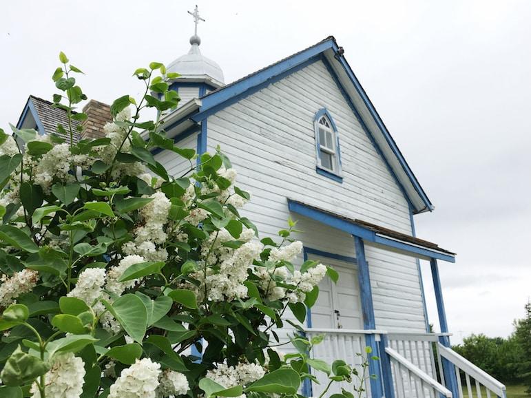 Ukrainian Church at Arborg Heritage Village