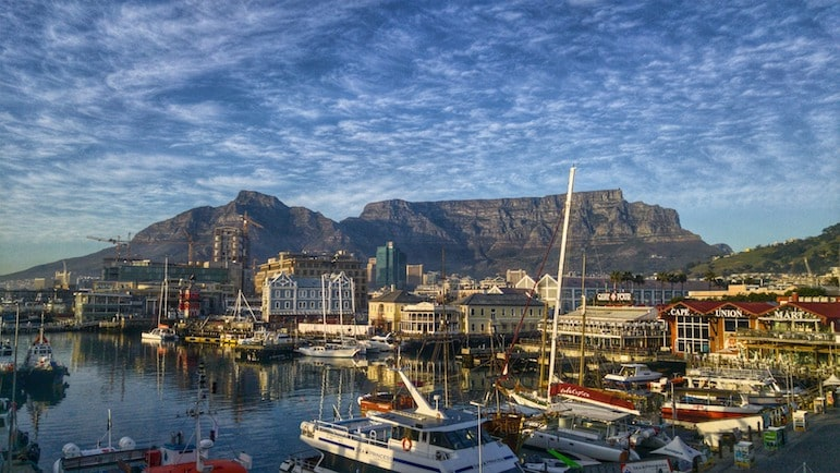 Spend some time around the V&A Waterfront for an art, culture and history experience