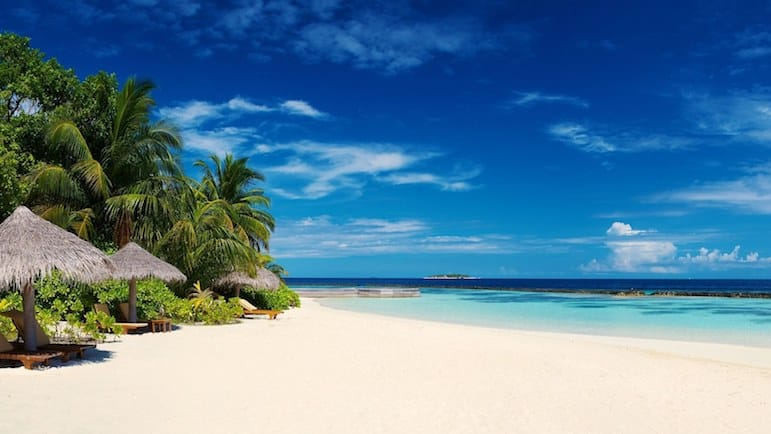 Places to go for Christmas and New Year holidays - beach time in Barbados beckons