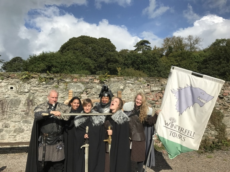 Places to go for Game of Thrones locations - the Winterfell Tours experience