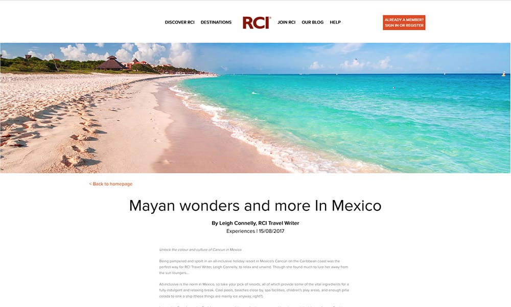 Mayan wonders and more in Mexico