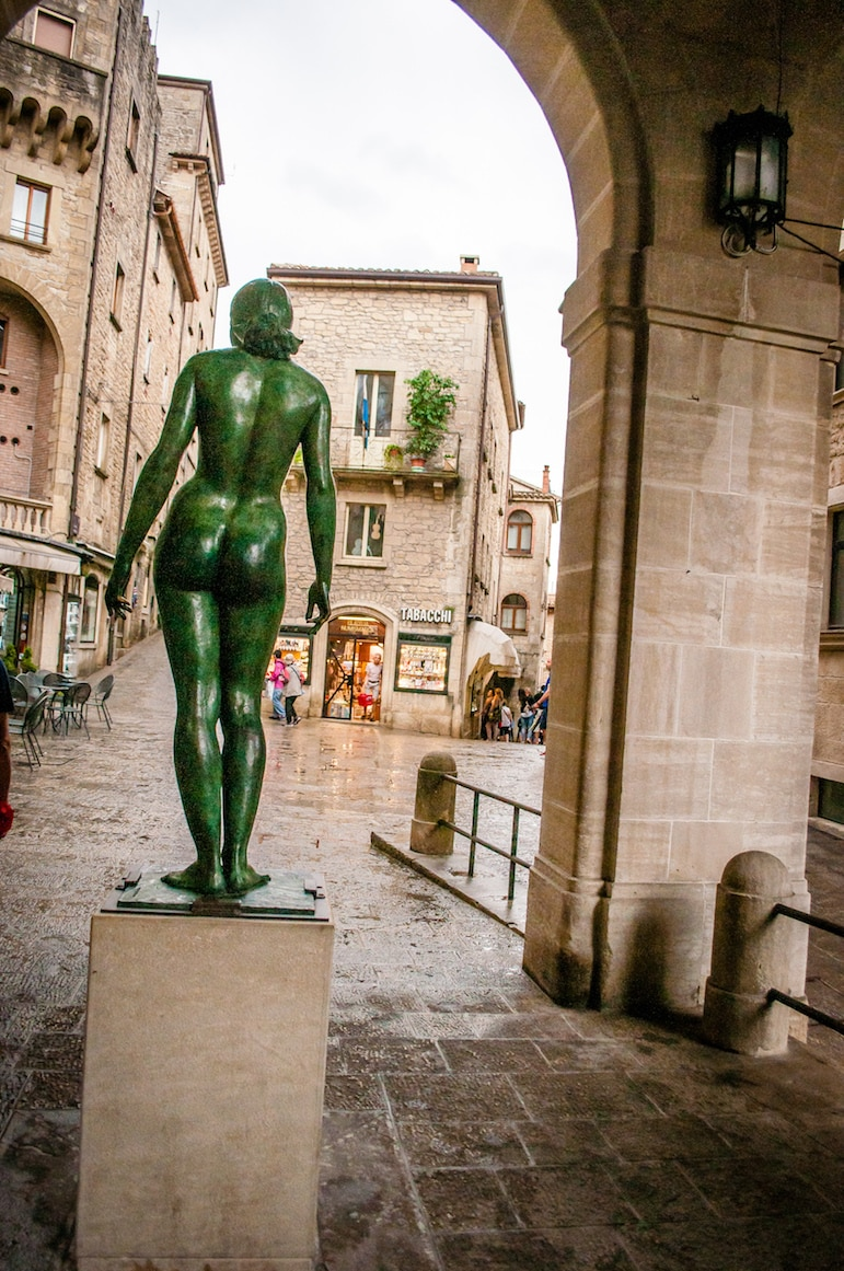 Things to do in San Marino, see the public sculptures