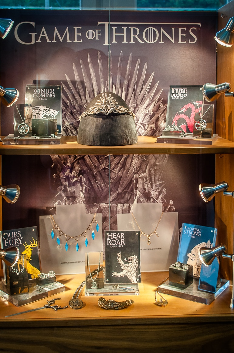 Steensons Game of Thrones jewellery collection
