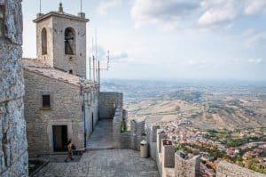 Guaita Tower provides great views