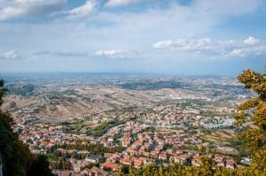 Climb to Guaita Tower for great views
