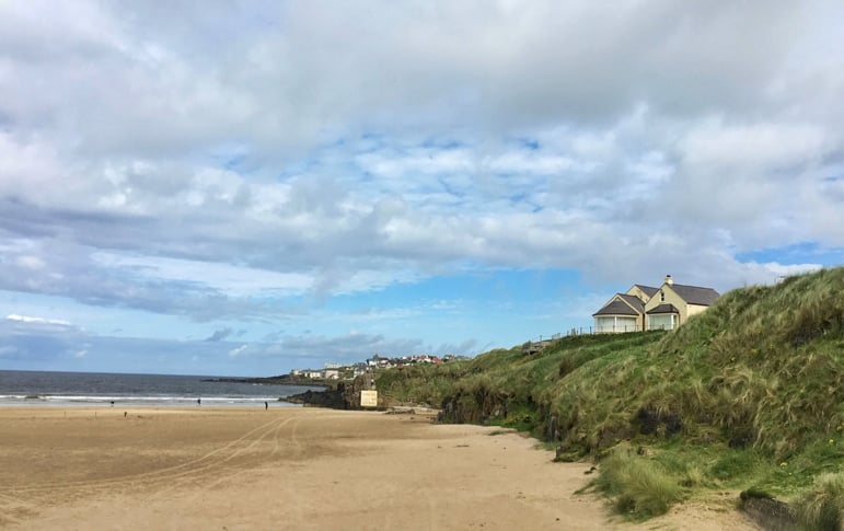 Where to go in Northern Ireland to see Game of Thrones locations - Portstewart Strand isn't just one of the Causeway Coastal Route's beautiful beaches, it's one that featured in the show