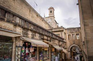 Shopping in San Marino