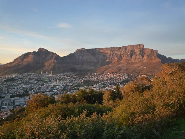 There are many things to see and do in South Africa but number one should be Table Mountain