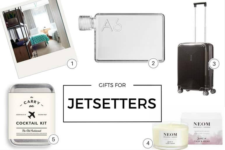 Gifts for jetsetters